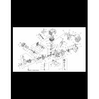 Запчасти двигателя Lux Tools B-FS-35/45 B купить с доставкой по России